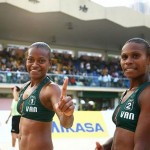 Beachvolley golden girls continue to put Vanuatu on the world map!